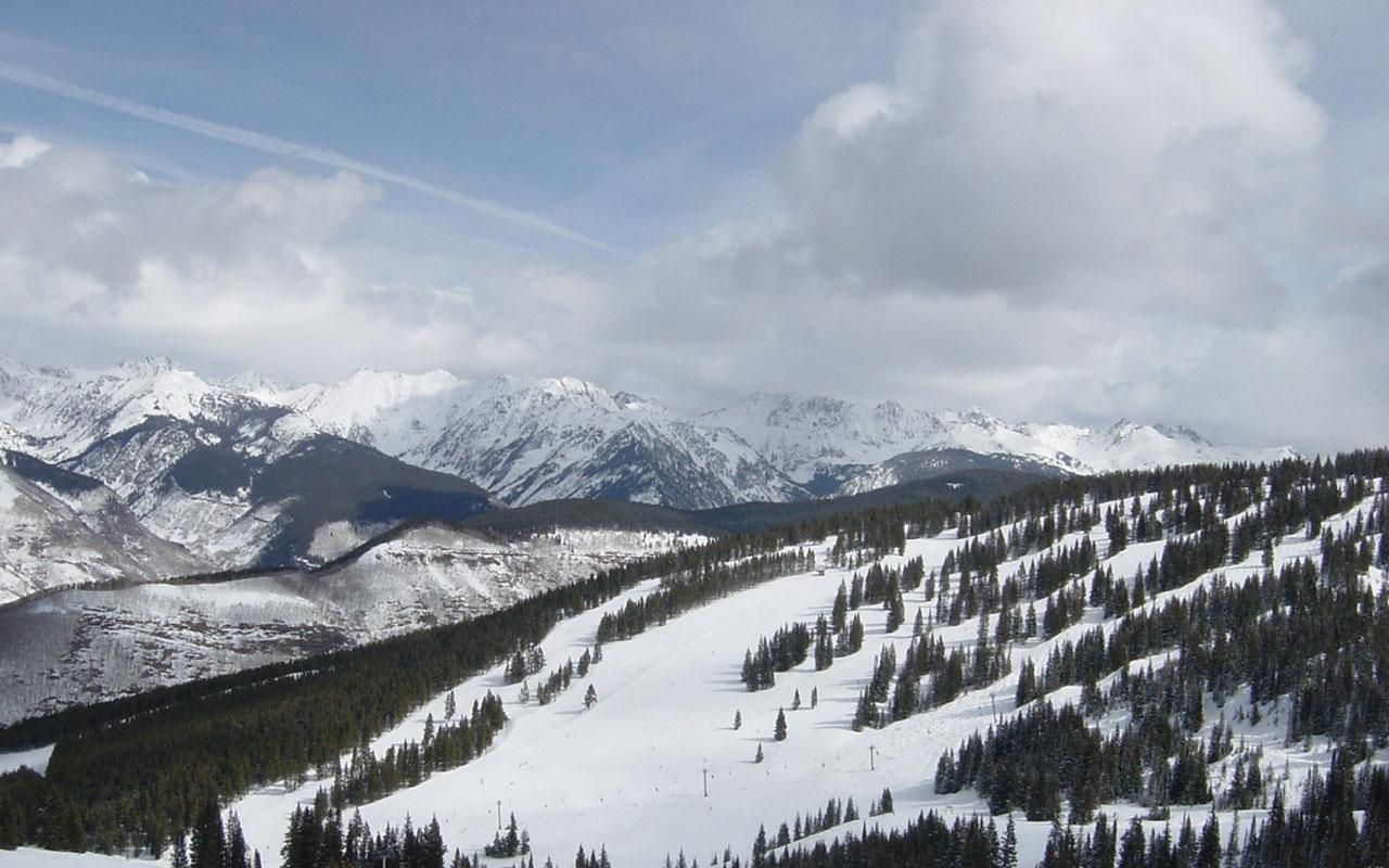 best ski resort - vail, colorado 1280x800 wallpaper #4