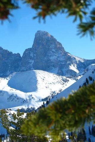 Grand Targhee, Wyoming - Grand Tetons Wallpaper #4 320 x 480 (iPhone/iTouch)