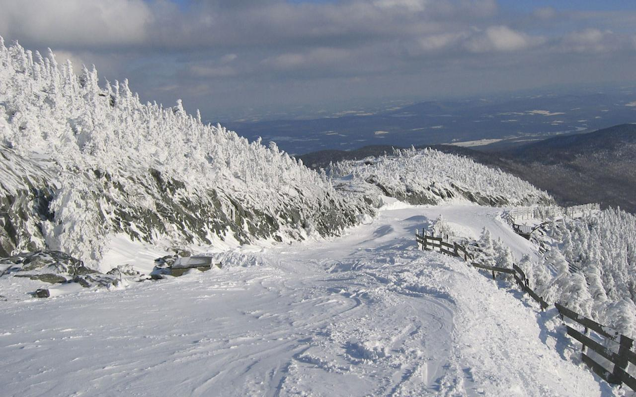 Jay Peak, Vermont - Vermonter (blue) Wallpaper #3 1280 x 800