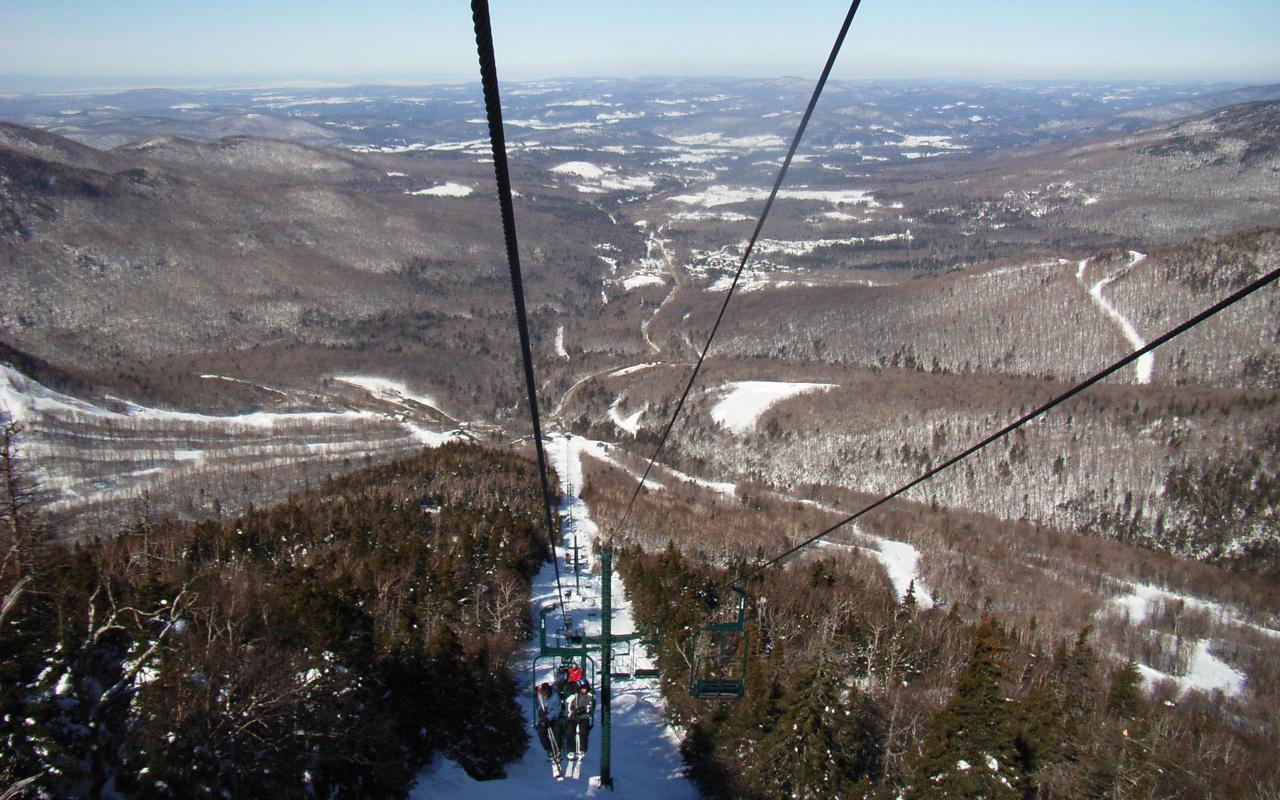 Best Ski Resort Smuggler S Notch Vermont Madonna Lift